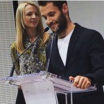 Repost by suzymenkesvogue LVMHprize Delphine and the fashion designer 2015hellip