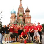 My fav spot at Red Square with rcspartapraha rugby clubhellip