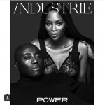 industriemag edwardenninful and iamnaomicampbell on cover by mertalas and marcuspiggotthellip