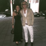 vogueitalia event triennale with peterdundas