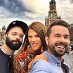 Lovely crew in Moscow! maximsap satoshiklein tsummoscow