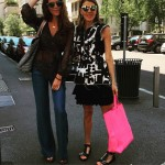 Today in the street! wearing isabel marant outfitampshoes celine shoppingbaghellip